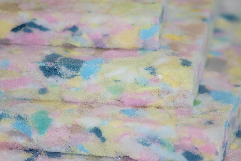 Rebonded foam mats